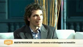 Martin Provencher, Le marché immobilier